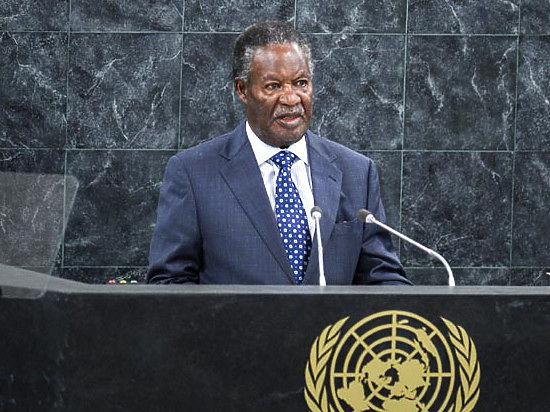 Президент Замбии по прозвищу
