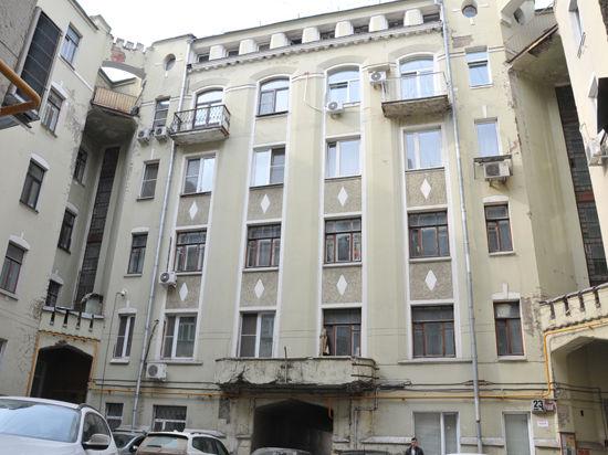 В центре Москвы нашли лестницу в прошлое