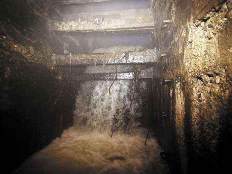 Подземные водопады могут