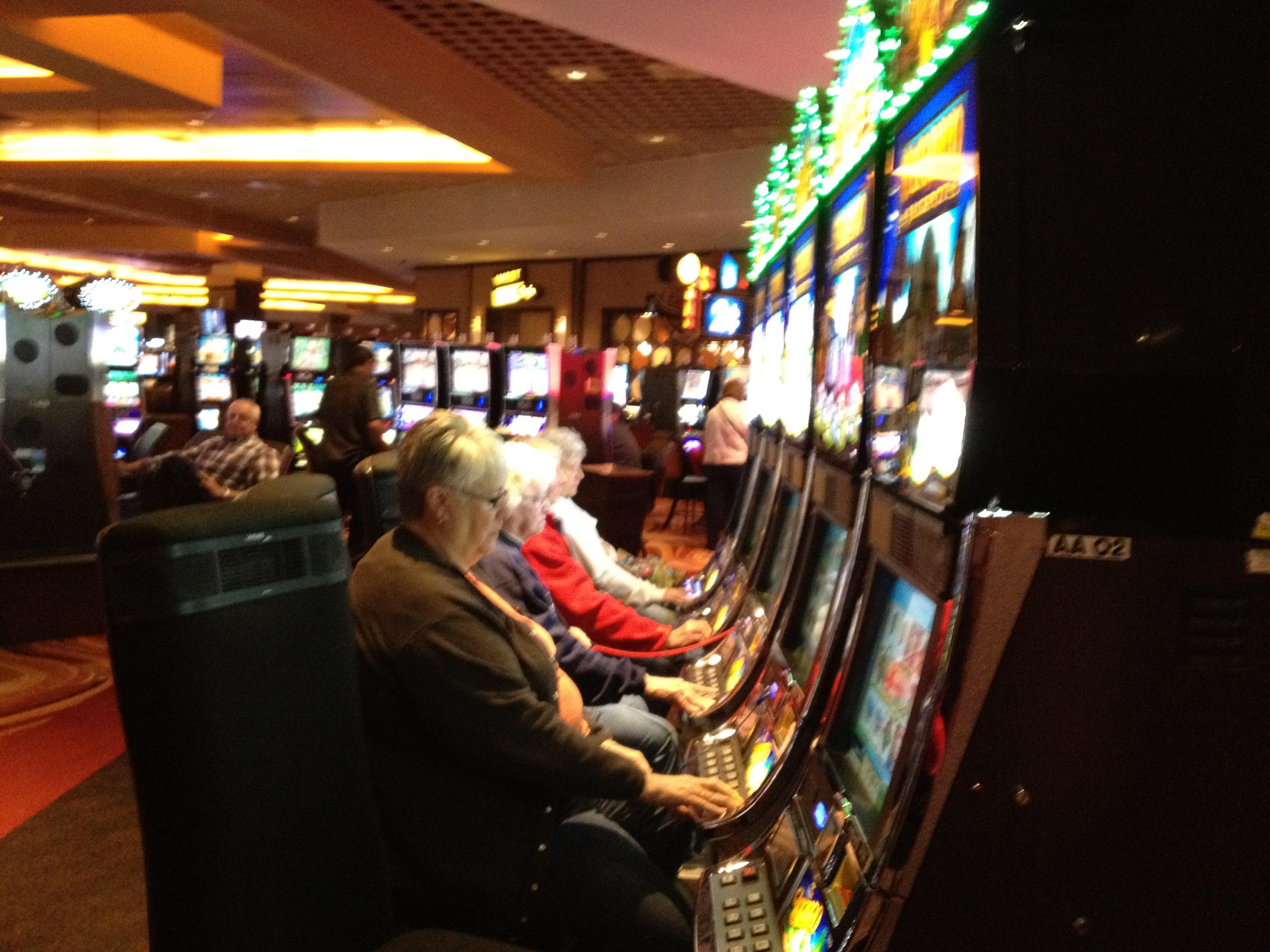 В бывшем казино